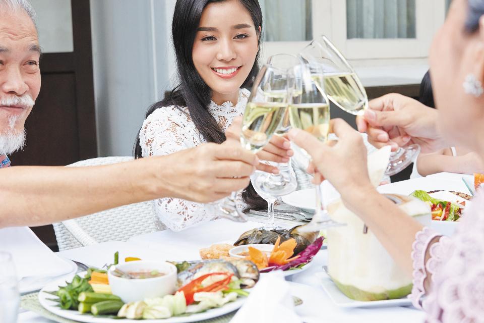 おめでとうレストラン 夏休みファミリーディナー