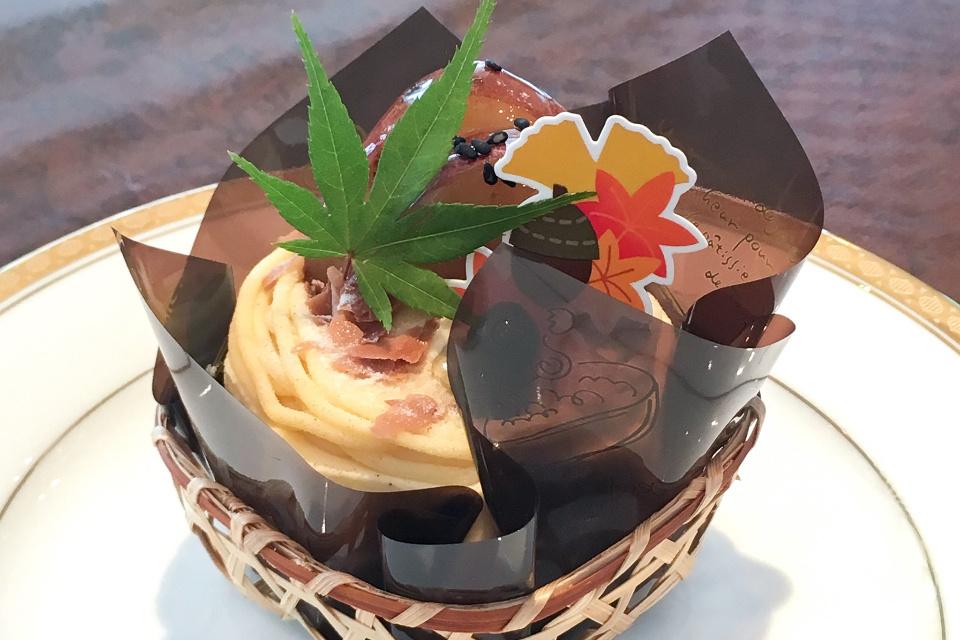 秋のフルーツ満載ケーキのご案内【ケーキのアトリエ プリマドンナ】