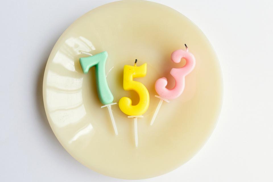 七五三お祝いパーティー